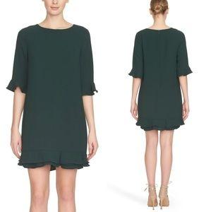 CeCe by Cynthia Steffe Kate Ruffle Hem Dress